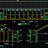 1566平米粮食仓库建筑及结构全套施工图纸