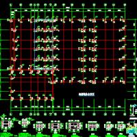 丰田4S店钢结构施工图纸
