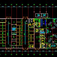 比亚迪4S店装修平面图