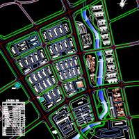 汽贸城规划设计方案CAD图