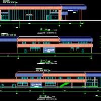 雷克萨斯4S店建筑图