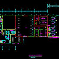 捷达4S店建筑平面图