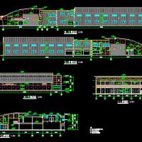 奥迪3S店建筑图纸