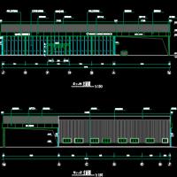 一汽丰田特约店建筑和电气图