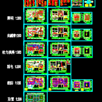 大众4S店电气和消防施工图