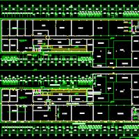 湖南某厂区厂房建筑设计方案图纸