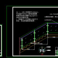 坚朗五金制品玻璃样板设计CAD图纸