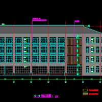 江苏12200平米四层框架食堂建结水电暖全套图(含厨房流程布置 机械旋挖桩)