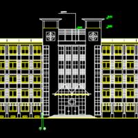8160平米中学综合实验楼建筑施工图纸