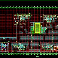河南平顶山30313平米地下车库建结水电暖信息全套图