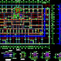 西安三十层剪力墙结构高层住宅楼结构施工图(灰土挤密桩)