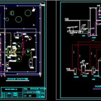 某污水处理厂初步设计CAD图