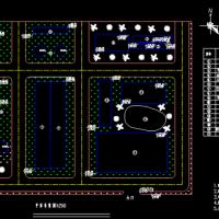 某制药厂污水处理站初步设计图(带说明书)