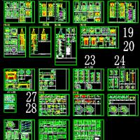 欧式建筑构件节点及塔楼CAD详图
