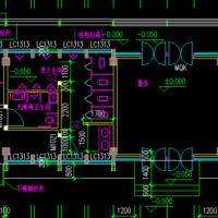 25.7X8.1米一层公厕建结水电全套图