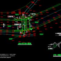 圆管涵漫水桥工程设计CAD施工图