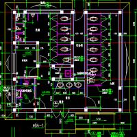 9.8X9.1米单层砌体结构市区公厕设计图
