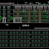 4019平米四层框架结构教学楼建筑及结构课设全套图(带计算书)