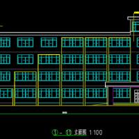 6244平米五层框架教学楼毕业设计(计算书 施工总平 开题报告)