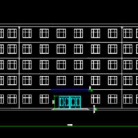 6500平米五层框架结构教学楼毕业设计(含建筑结构图 计算书)