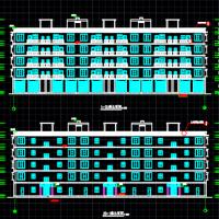 3680平米五层框架结构住宅毕业设计图纸(含计算书)