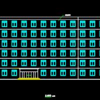 某5000平方米六层框架结构办公楼建筑结构施工图(含计算书)
