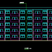 2257平米五层框架住宅楼毕业设计(计算书PDF、建筑、结构图)