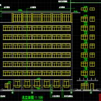 河南6234平米中医院建筑施工图