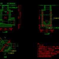圆形混凝土雨水检查井CAD图纸(1000mm)