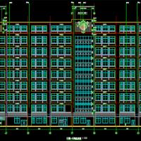 28606平米医院门诊医技楼建结水电暖全套图纸(橡胶隔减震)