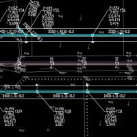 道路排水设计CAD图