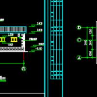 12.3X5.1米小型公厕方案图(带管理室)