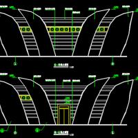 12.5X9米 一层城区公厕建筑图纸(含管理室及报刊亭)