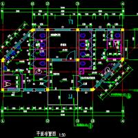 12.24X6.24米 1层景观公厕建筑图