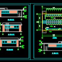 12X9.5一层公厕方案建筑图
