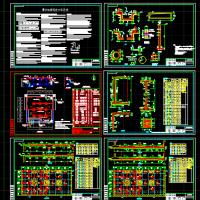 污水处理厂清水池结构图