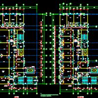 河南5422平米框架结构妇幼保健院建筑及结构全套图(钻孔灌注桩)