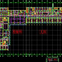 江苏某21层医院给排水设计CAD图纸
