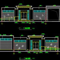 某市城区土建公厕设计图(带垃圾转运)