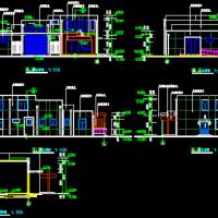 二层砖混结构362平米城市环卫班点转运站及公厕建筑图