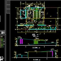 1层公厕及管理用房建筑图