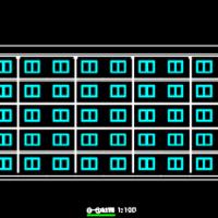 5200平米五层公寓楼计算实例及毕业设计(含图纸 计算书)