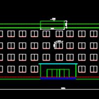 4600平米五层框架商业办公楼毕业设计(含图纸及计算书)
