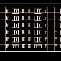 3000平米六层框架结构住宅楼毕业设计(含计算书、任务书、实习报告、开题报告)