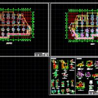 地下室锚杆静压桩加固工程设计施工图