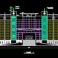 青岛3611平米四层教学楼建筑及结构施工图(含计算书)