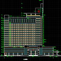 山东26604平米16层医院综合楼建筑施工图