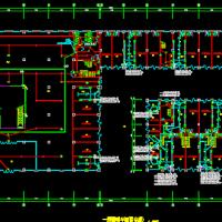 宁夏多层商业综合楼强电系统施工图纸