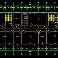 4626平米6层框架结构办公楼建筑结构毕业施工图(含论文)