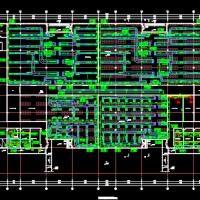 江苏泰州仓库暖通空调CAD设计图纸